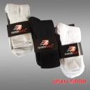 Rommwex Çorap (Beyaz-Siyah-Gri)