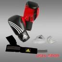 Adidas Set Eldiven (Eldiven-Bandaj-Dişlik) (ADIBPKIT01)