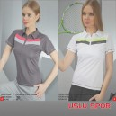 Crozwise Bayan İnterlock Polo T-Shirt   7038